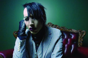 Marilyn manson stirs up controversy again music news caught in