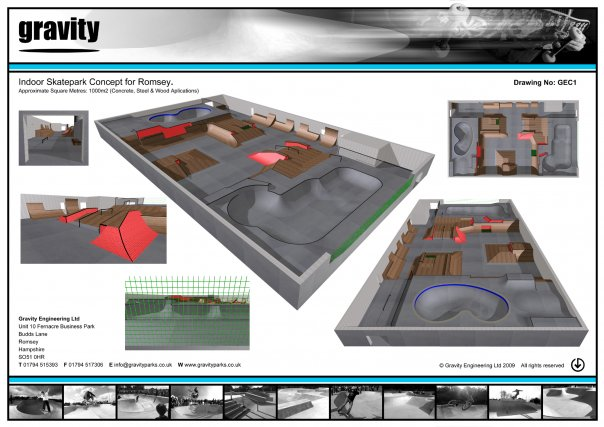The uk 39 s biggest indoor skatepark build needs your support for Indoor skatepark design uk