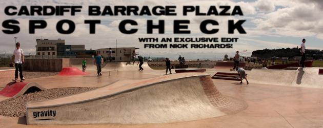 Spot Check: Cardiff Barrage Plaza