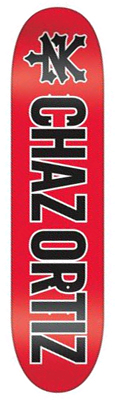 Zoo York Chaz Ortiz Threepeat Deck