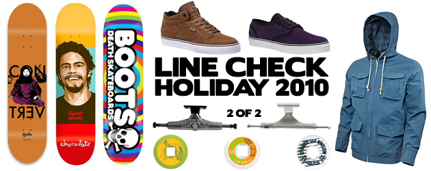 Line Check: Holiday 2010 2 of 2