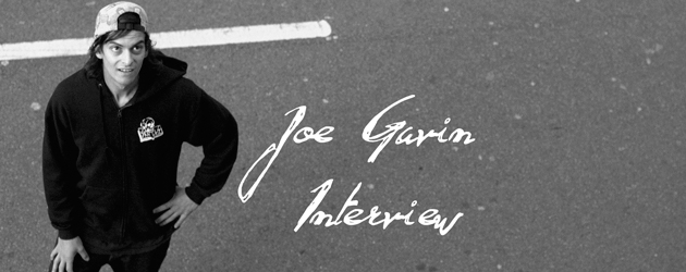 Joe Gavin Interview