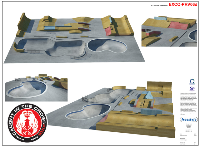 Feature extreme connexions the uk 39 s only indoor concrete for Indoor skatepark design uk