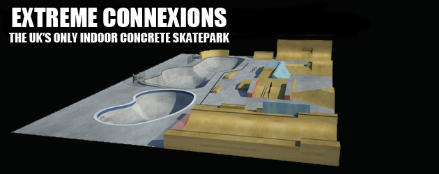 Extreme Connexions, the UK's only indoor concrete park