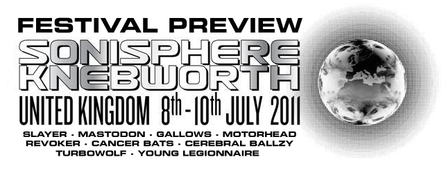 Sonisphere Festival 2011 preview