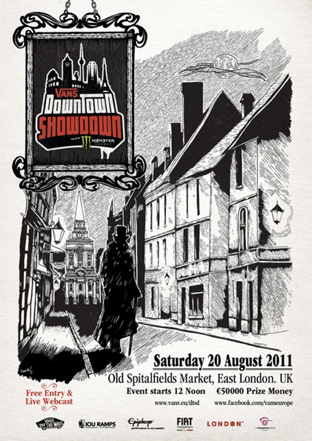 Image result for VANS DOWNTOWN SHOWdown LONDON
