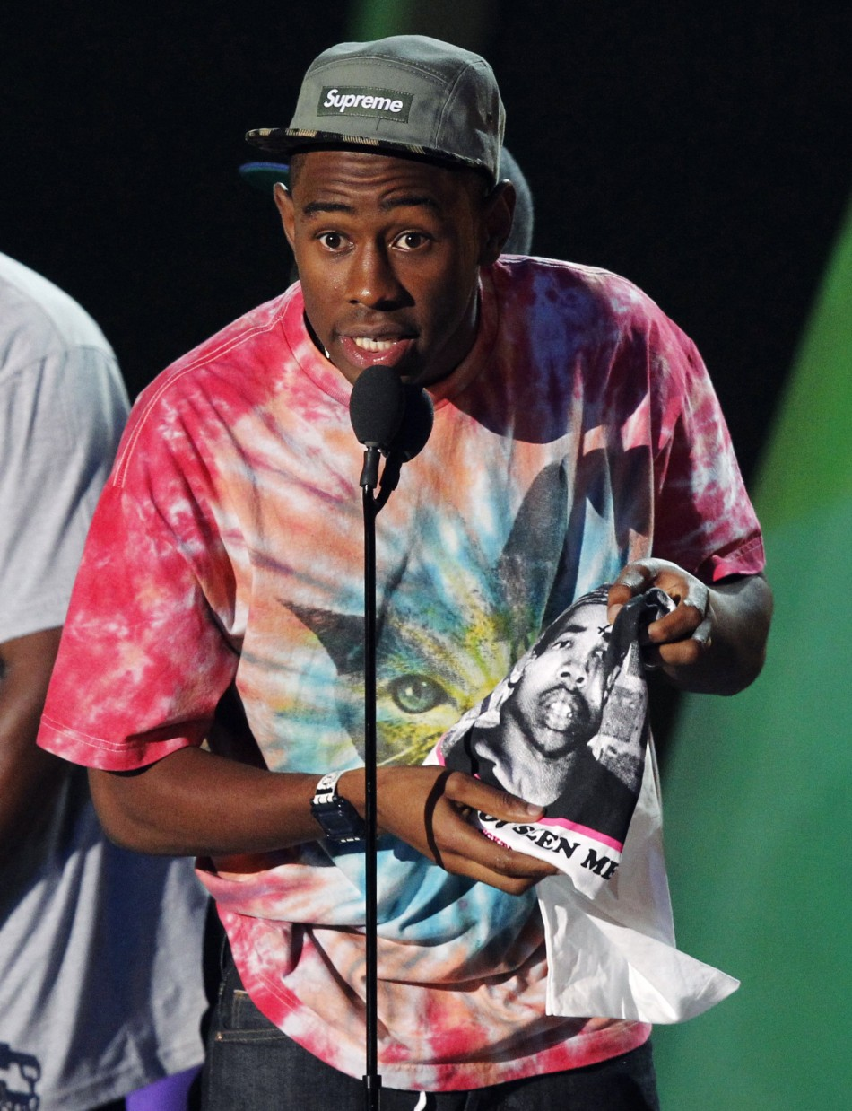 d0b085d3cfc2 Tyler the Creator wins Best New Artist at VMA s – Caught in the ...