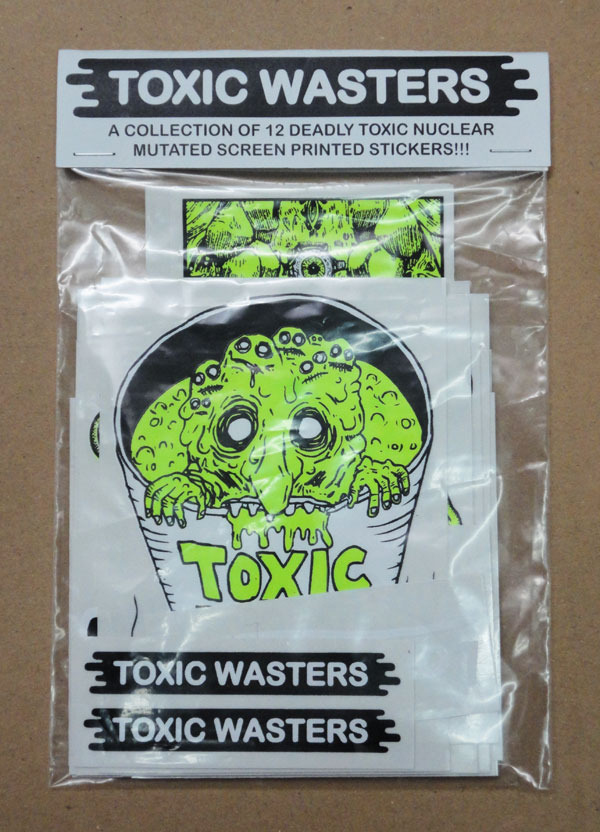 TOXICWASTERS-STICKER-PACK