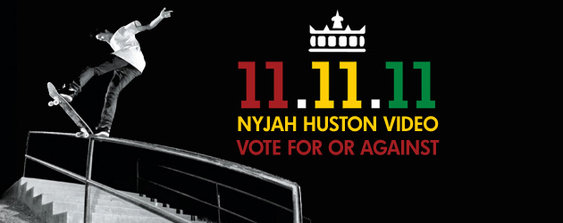 Nyjah Huston The Rise and Shine vote