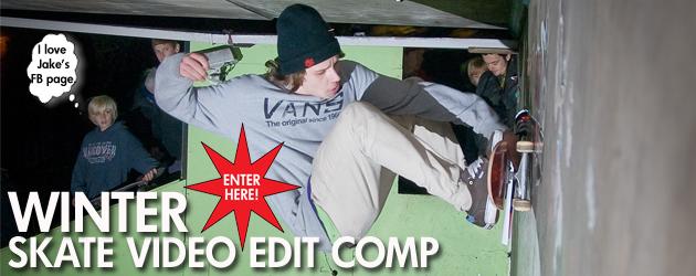 Winter Skate Video Edit Comp!