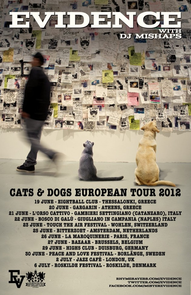 Evidence (Dilated Peoples) EU tour