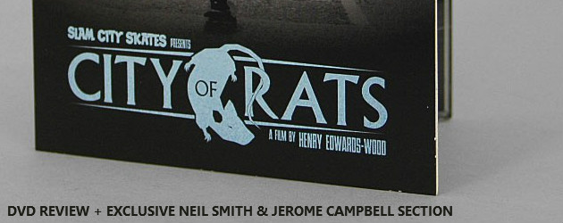 Slam City Skates City of Rats DVD