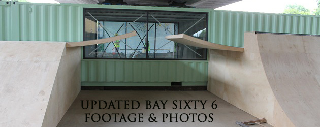 Bay Sixty 6 skatepark goes under the hammer