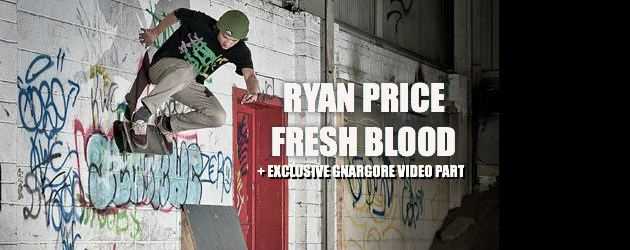 Ryan Price Fresh Blood interview