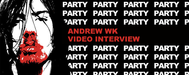 Andrew WK video interview
