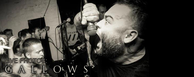 Gallows album release show photo gallery