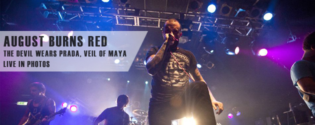 August Burns Red Live In Photos