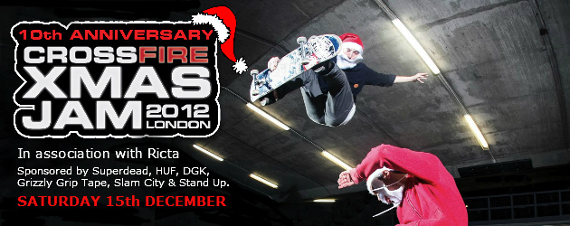 10th Anniversary Crossfire Xmas Jam 2012