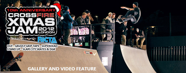 The Crossfire Xmas Jam 2012 feature