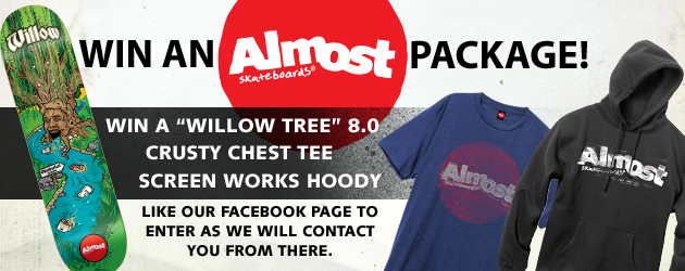 Win an Almost Skateboards package!