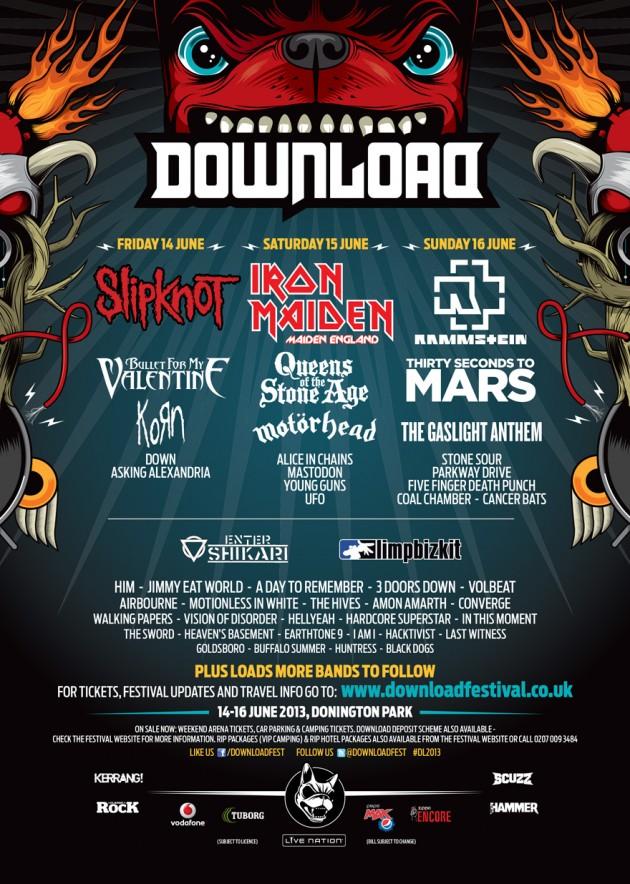Hellyeah hellyeah download festival 2013 youtube.