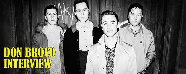 Don Broco video interview