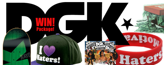 Win a DGK Package!