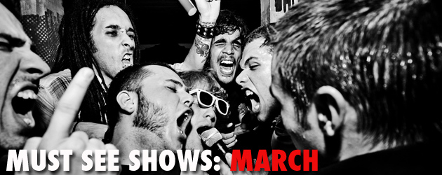 Must see shows: March