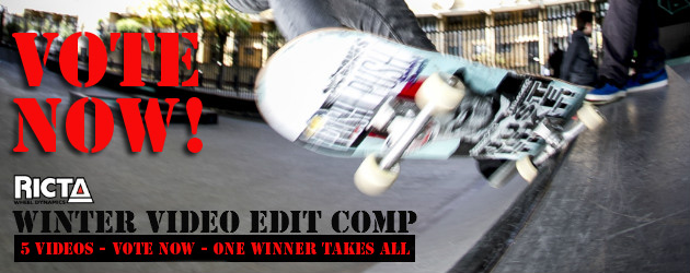 Winter Skate Video Edit Vote 2013