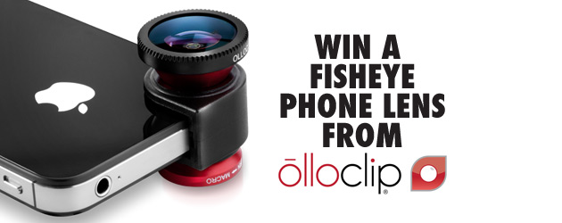 Win an Olloclip iPhone 5 lens!