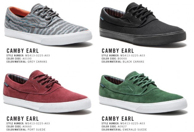 92ecb10dec25 ... footwear collabs with this Lakai x Earl Sweatshirt Camby shoe collab  Skateboarding Pro ...