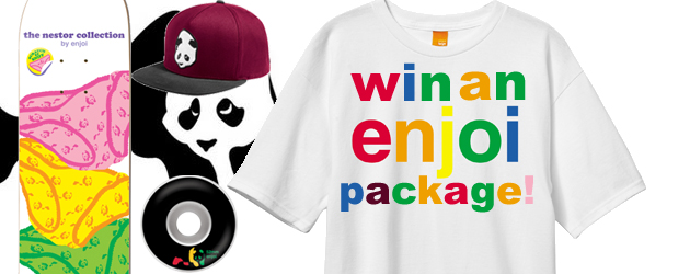 Win an enjoi package!