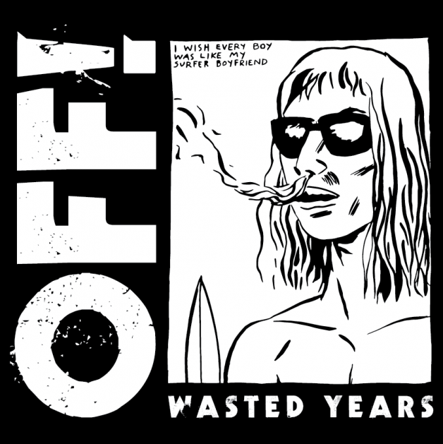 OFF_Wasted_Years_ART_album_pettibon, sleeve