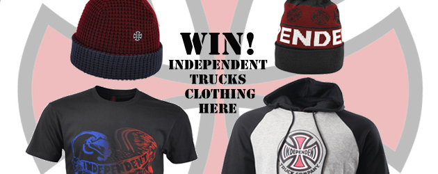 Win an Independent Trucks winter clothing package!