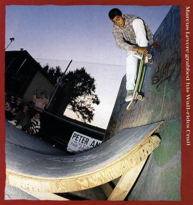 Marcus Levere in RAD mag 1988