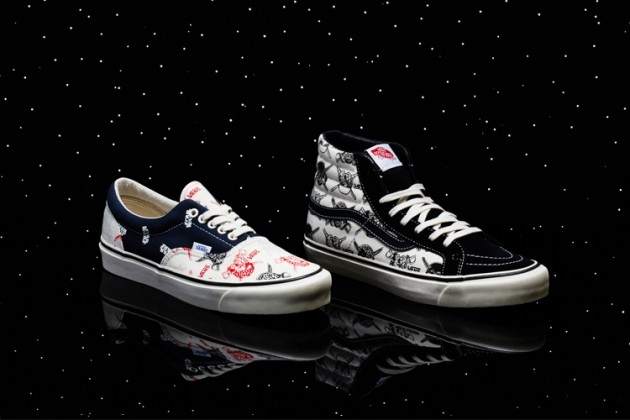 vans star wars shoe series caught in the crossfire. Black Bedroom Furniture Sets. Home Design Ideas