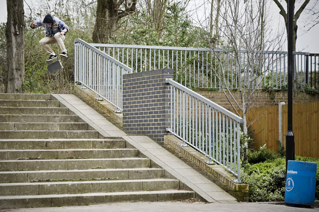 2_science_skateboards_dan_tomlinson_kickflip_into_double_bank