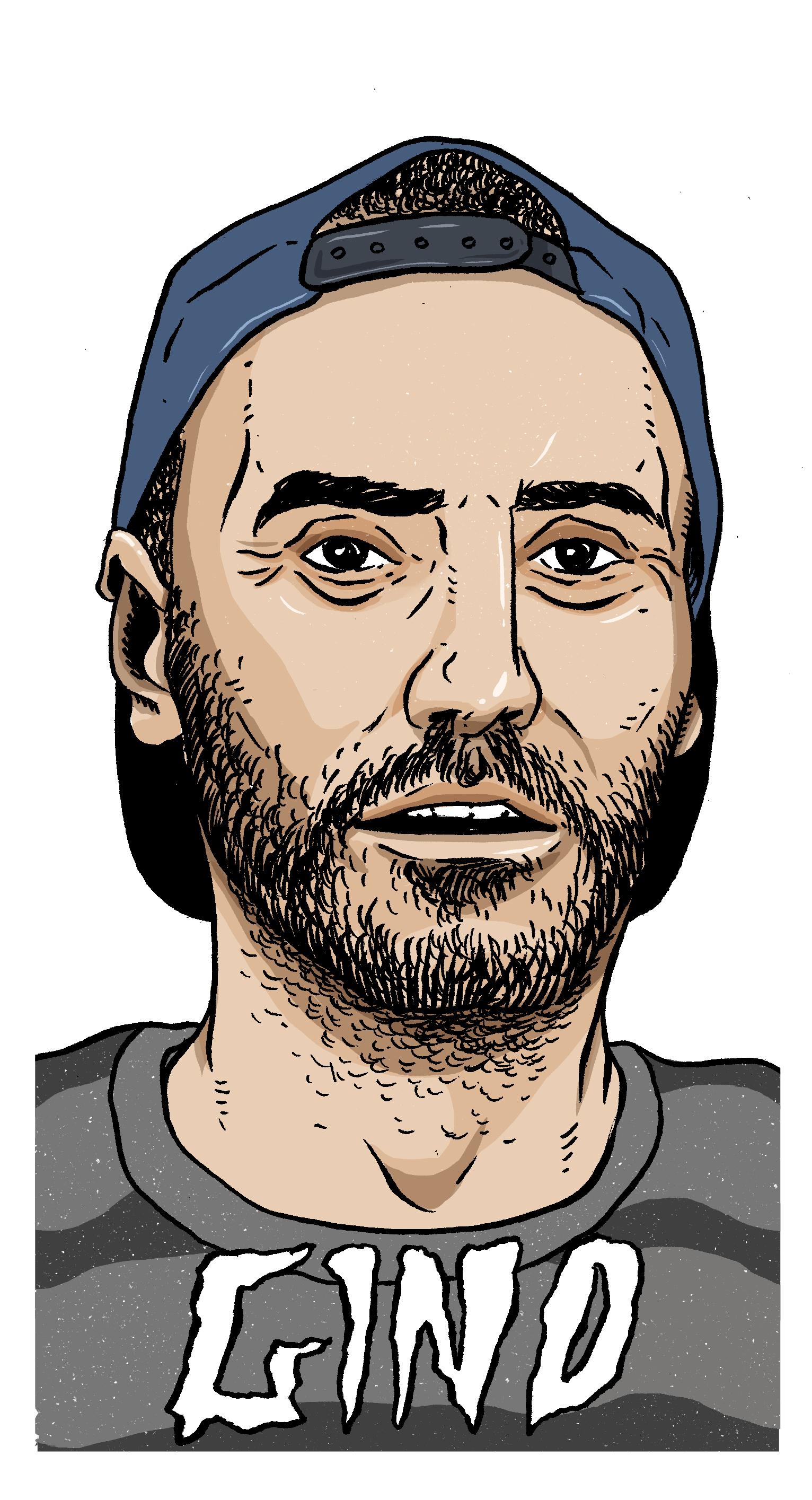 gino_iannucci_fuckingawesome_crossfire_george_yarnton_illustration