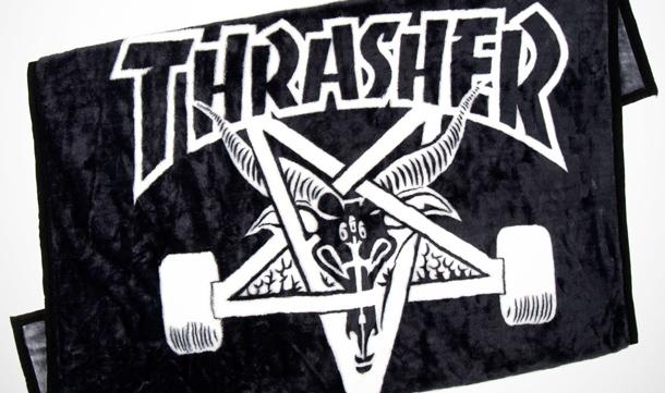 PRODUCT PREVIEW Thrasher Skate Goat Blankets