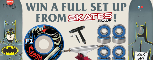 Win a full set up from Skates.co.uk!