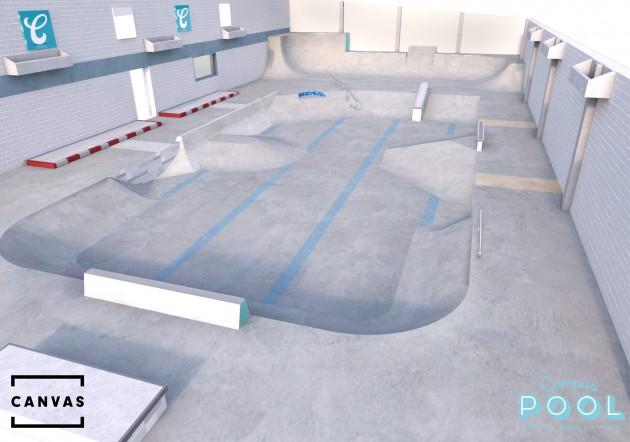 Campus_Pool_skate_canvas_design_bristol