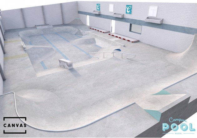 Campus_Pool_skate_canvas_design_bristol