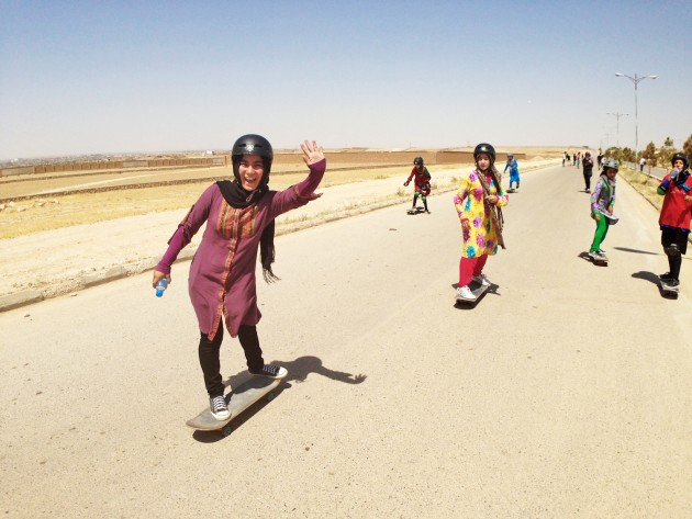 2014_girls_skating_in_the_street_for_the_first_time_up_in_mazar-e-sharif_northern_afghanistan