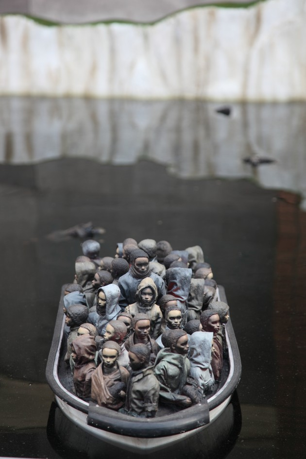 refugees_banksy_dismaland_steve_cotton_photo