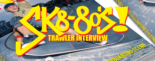 Smoking Coping – the making of the Sk8 80's book