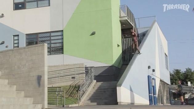 David_Mull_the_worble_skate_boardslide_skateboarding_thrasher_video