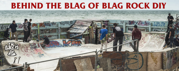 Behind the blag of Blag Rock DIY