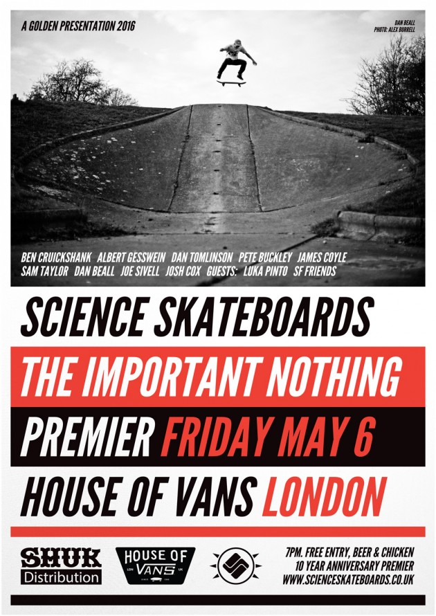 science_skateboards_house_of_vans_premiere_The Important Nothing