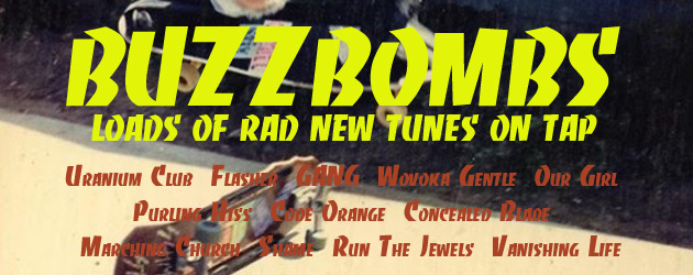 Buzzbombs – 12 rad new tunes on tap